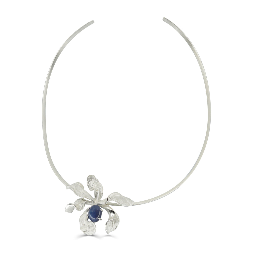 Mara Soriano - Natsu Designer Choker with Tanzanite on IndieFaves
