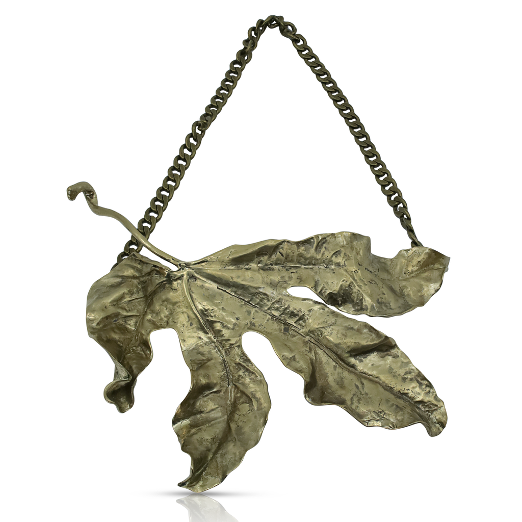 Vine Leaf Designer Necklace on IndieFaves