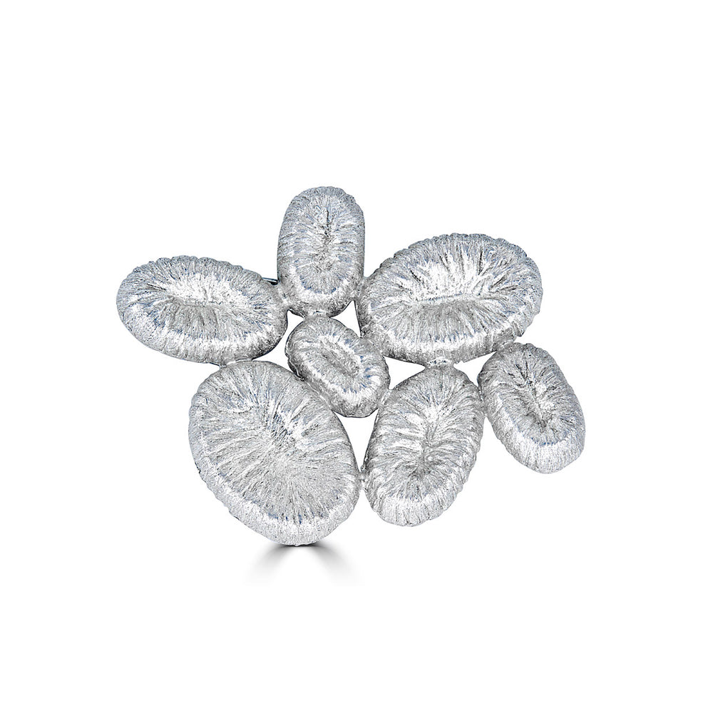 Rent Jewelry - Silver Designer Brooch