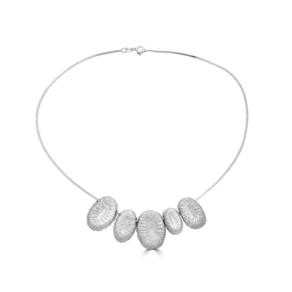 Rent Jewelry - Silver Designer Necklace