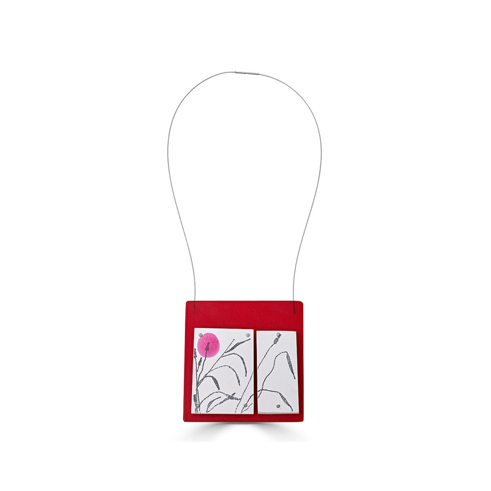 May Ganan - Hand-painted Designer Necklace on IndieFaves