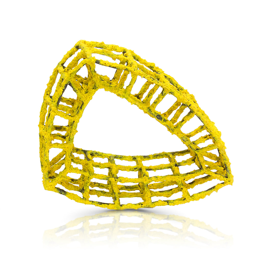 Rent Designer Jewelry - Priya Thorensen - yellow triangle
