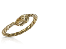 Thin Rope Ring Gold
