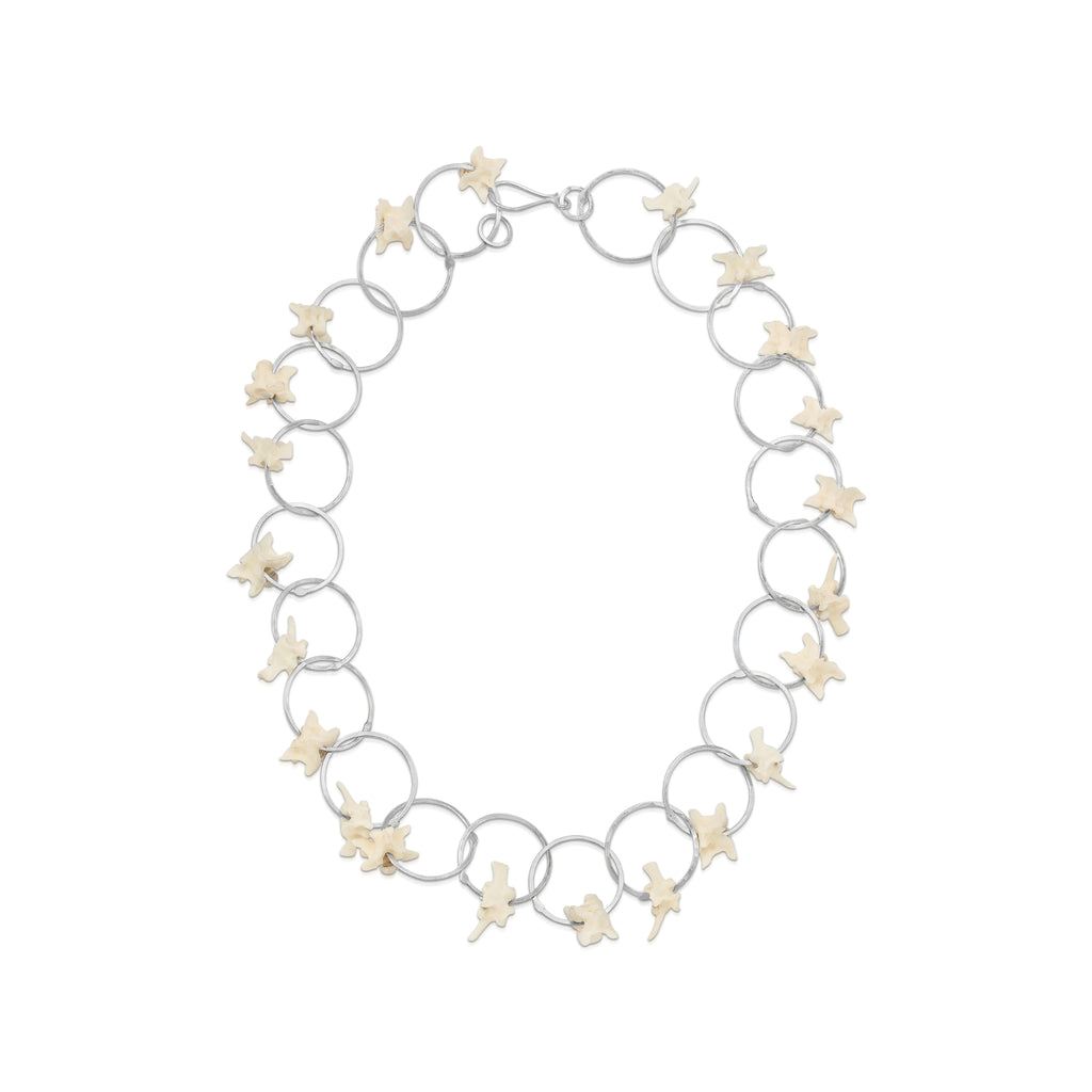 Susan Drews Watkins - Verteral Large Link Designer Necklace on IndieFaves