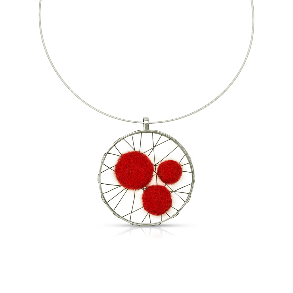 Susan Drews Watkins - Wheel Designer Pendant Felts 3 on IndieFaves