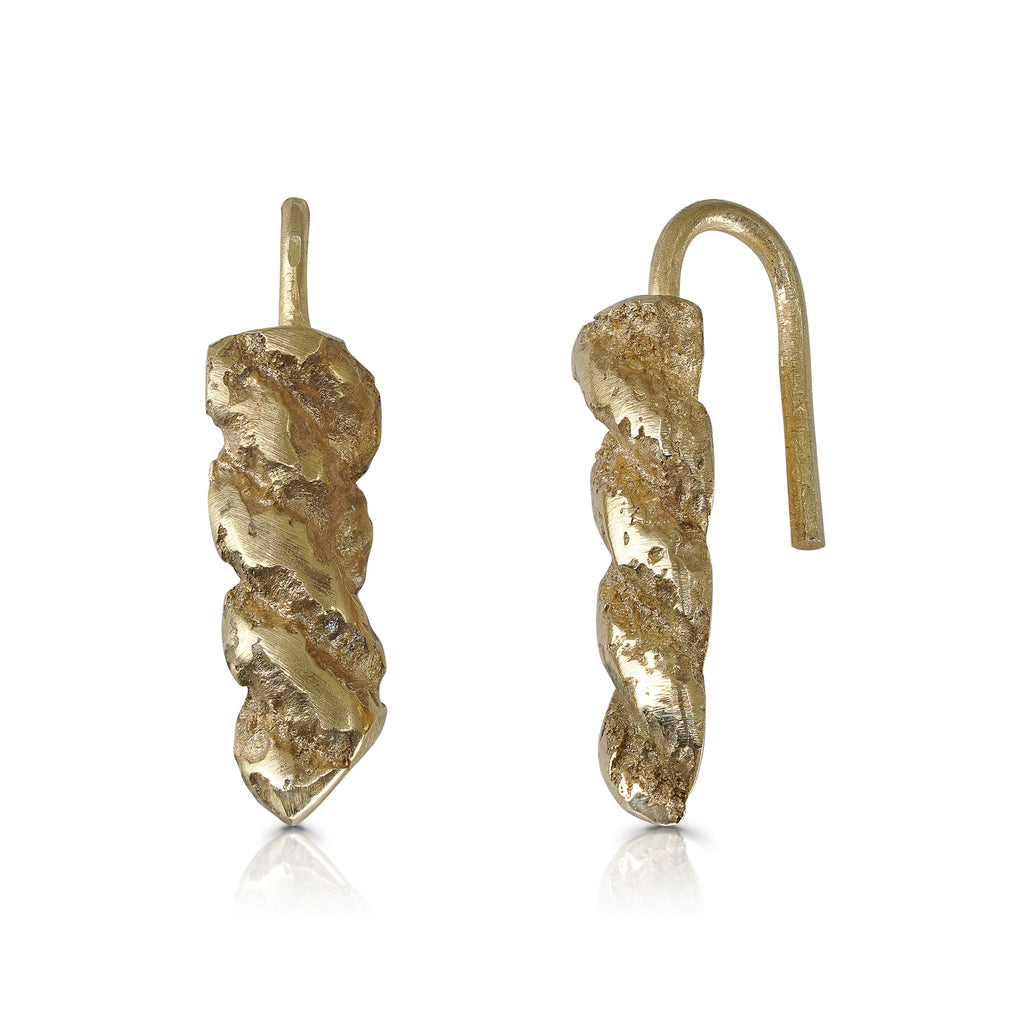 Rent Designer Jewelry - Tami Eshed - Rope Earrings