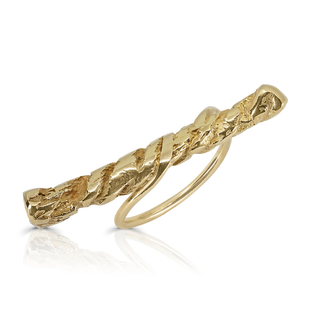 Rent Designer Jewelry - Tami Eshed - Rope Top Ring