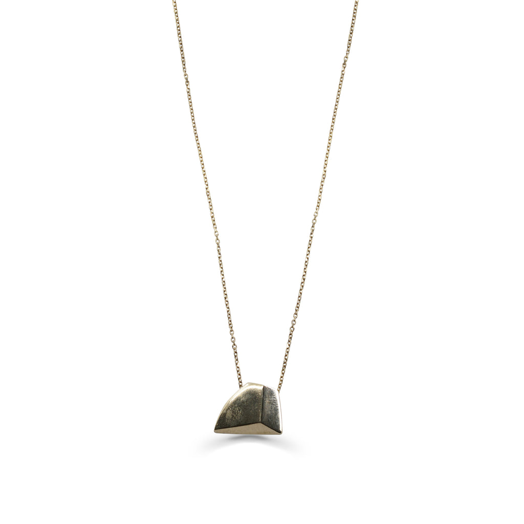 Tami Eshed - Triangular Designer Necklace on IndieFaves