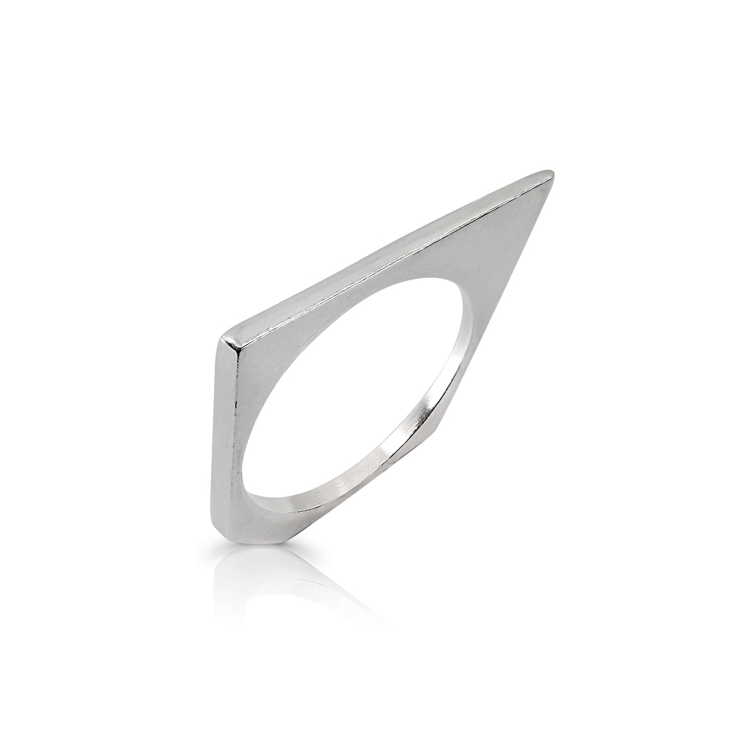 Tami Eshed - Triangular Designer Ring on IndieFaves