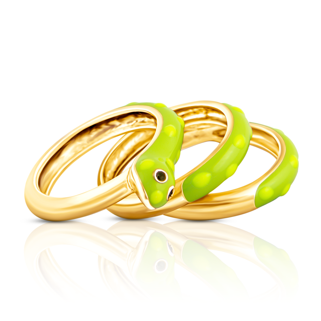 chiara bello snake ring
