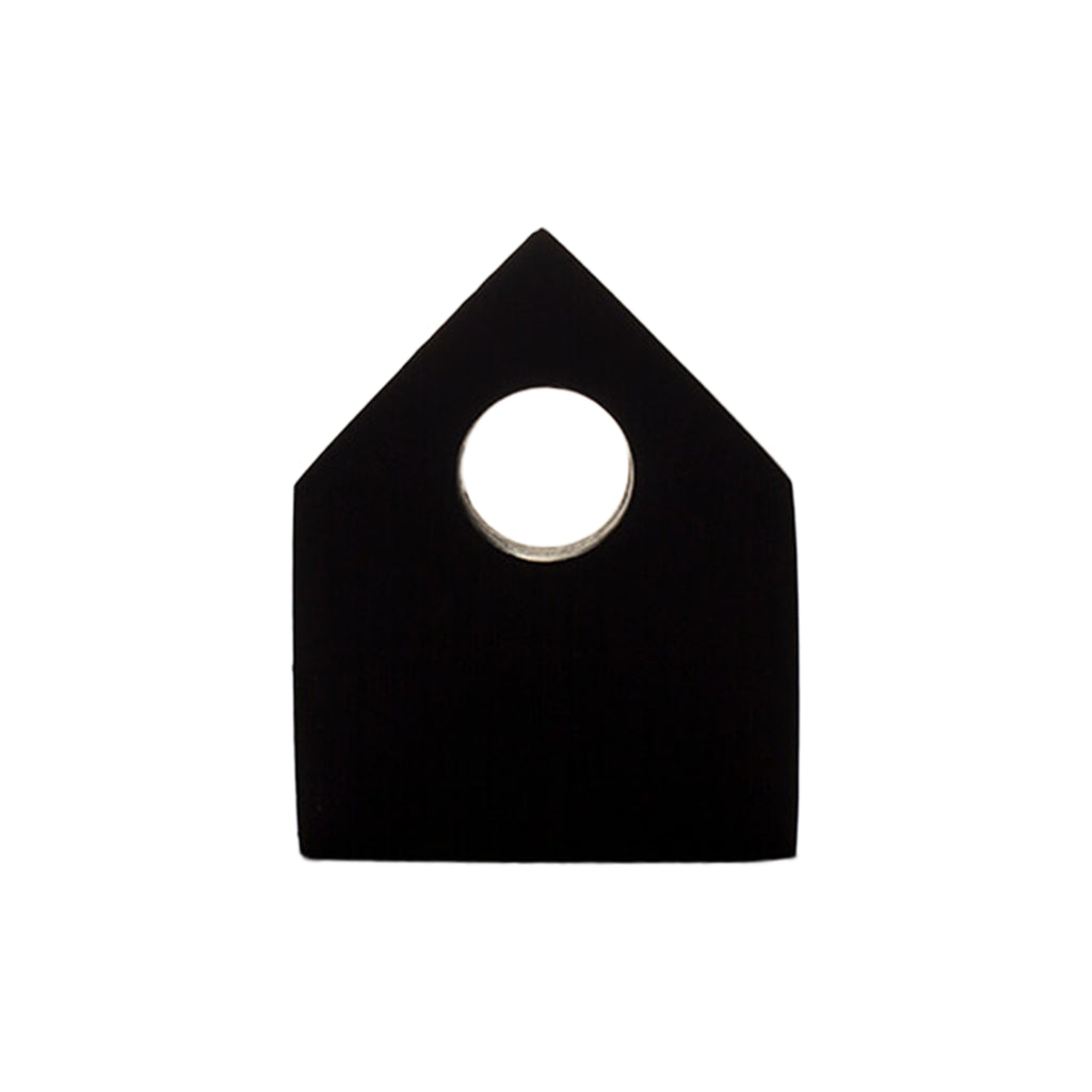 Pa de do - Architecture-Inspired Hillx1 Necklace Black on IndieFaves
