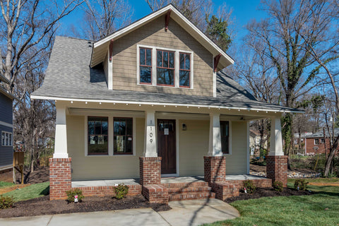 craftsman home plan modern