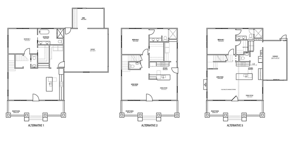 Alternative Floor Plans