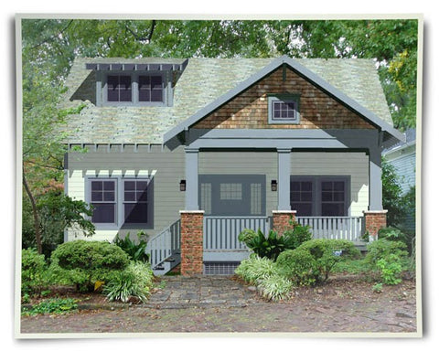 Jacobson cottage home plan