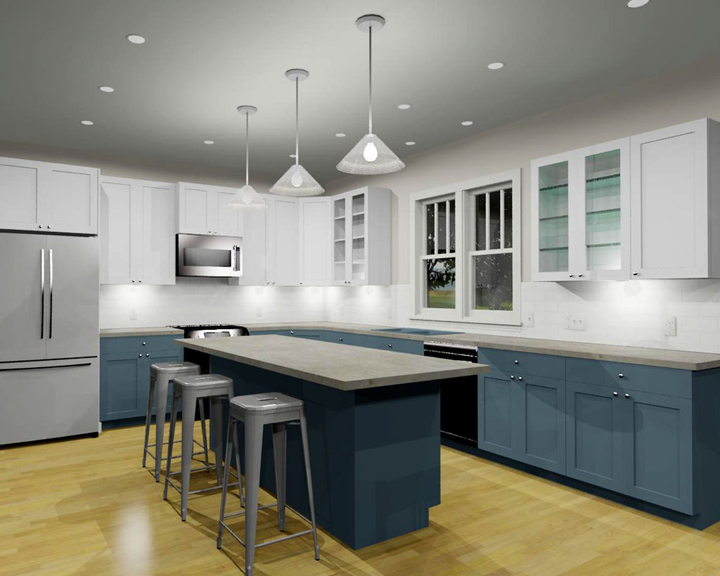 bungalow kitchen modern