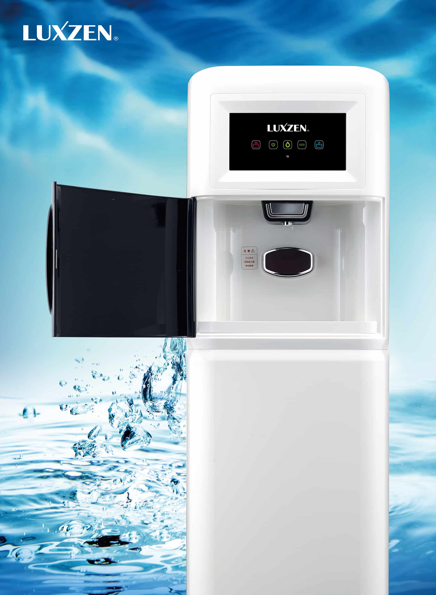 LuxZen® Water: Hydrogen Enriched Water Purifier & Dispenser - Touched by Good