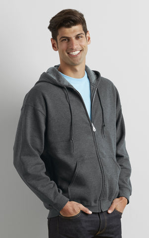 Full Zip Premium Hooded Fleece