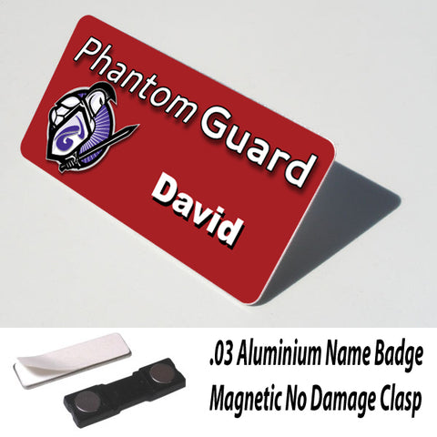 Name Badge with Magnet Clasp