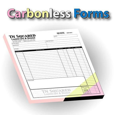 Carbonless Forms - Flip Books
