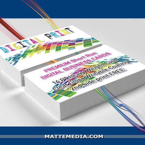 Premium Short Run Digital Business Cards