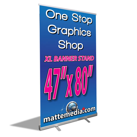 Retractable XL-Banner Stand