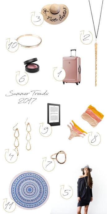 2017 Vacation Must Haves
