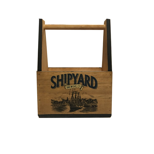 Shipyard Wooden 6 Pack Tote