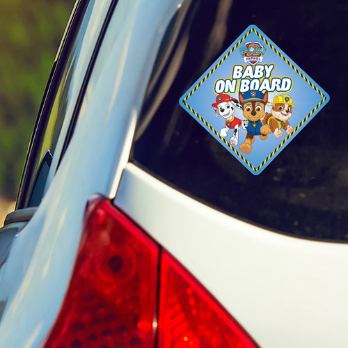 PAW Patrol Baby On Board Car Decal