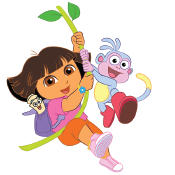 Dora the Explorer Label Pack