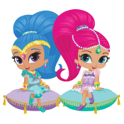 Shimmer & Shine Label Pack