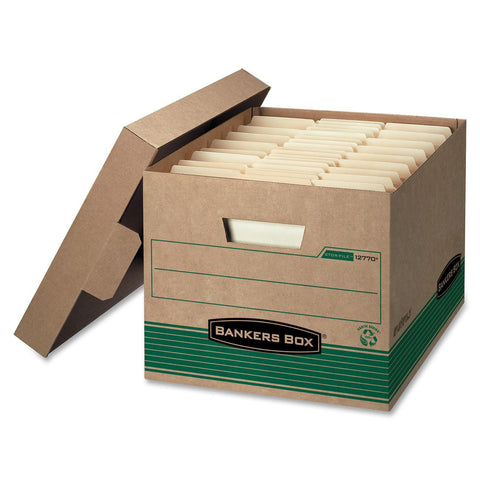 Bankers Box Medium Letter/Legal Storage Boxes - Each