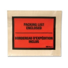 3M Self-Stick Packing List/Invoice Envelope - Packing List - 1000 / Box - Office Buggy