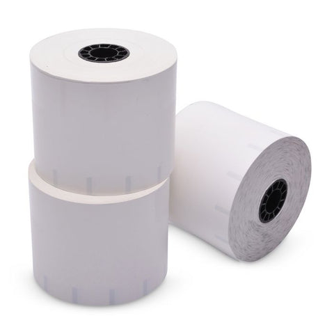 80 mm x 375 ft Sticky Media Thermal Paper Roll