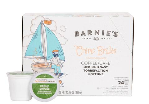 Barnie's Crème Brûlée Single Serve Coffee Cups (24 Pack)
