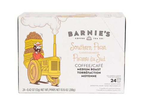 Barnie's Southern Pecan Single Serve Coffee Cups (24 Pack)