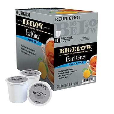 Bigelow® Earl Grey Single Serve Tea Pods (24 Pack)