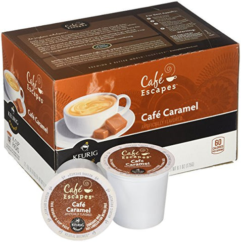 Cafe Escapes® Cafe Caramel Single Serve Cups (24 Pack)