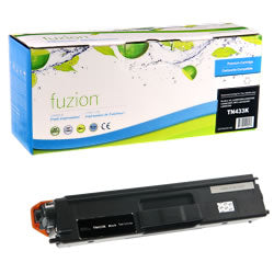 Fuzion New Compatible Black Toner Cartridge for Brother TN433BK