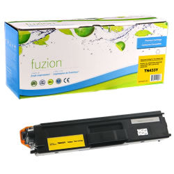 Fuzion New Compatible Yellow Toner Cartridge for Brother TN433Y
