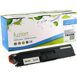 Fuzion New Compatible Black Toner Cartridge for Brother TN436BK