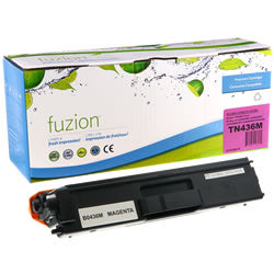 Fuzion New Compatible Magenta Toner Cartridge for Brother TN436M
