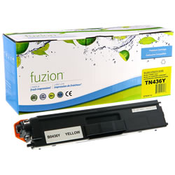 Fuzion New Compatible Yellow Toner Cartridge for Brother TN436Y