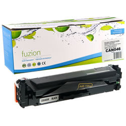 Fuzion New Compatible Black Toner Cartridge for Canon 046HK