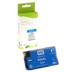 Fuzion New Compatible Cyan Ink Cartridge for HP #952XL
