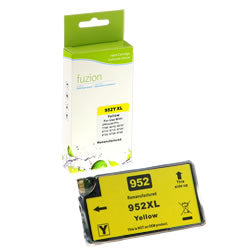 Fuzion New Compatible Yellow Ink Cartridge for HP #952XL