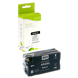 Fuzion New Compatible Black Ink Cartridge for HP #952XL or #956XL