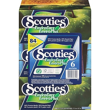 Scotties® Envirocare Facial Tissue - 36 Boxes