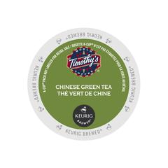 Timothy's® Chinese Green Tea Single Serve Tea Pods (24 Pack)