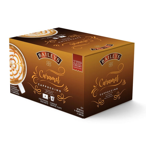 Baileys Caramel Creamy Cappuccino - 2 Step Single Serve (6 pack)