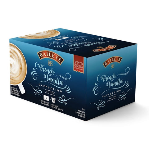 Bailey's French Vanilla Cappuccino - 2 Step Single Serve (6 pack)